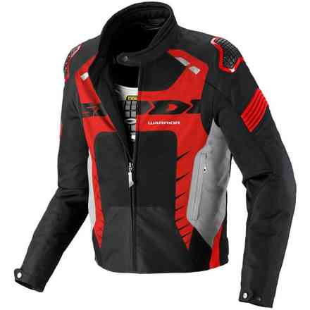 Veste Warrior Net noir-rouge Spidi