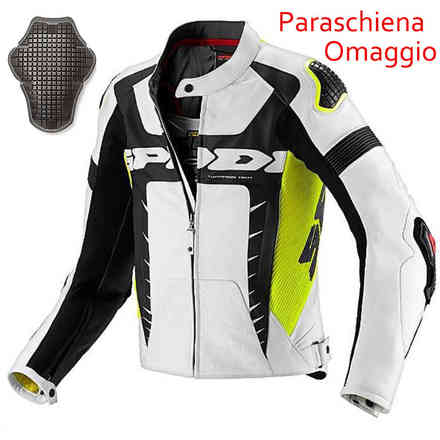 Veste WARRIOR PRO jaune fluorescent - protection cadeau Spidi