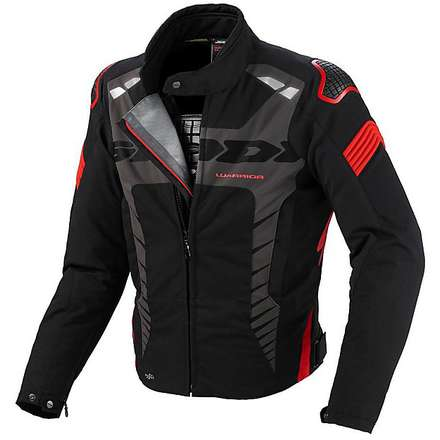 Veste Warrior Sport noir-rouge Spidi