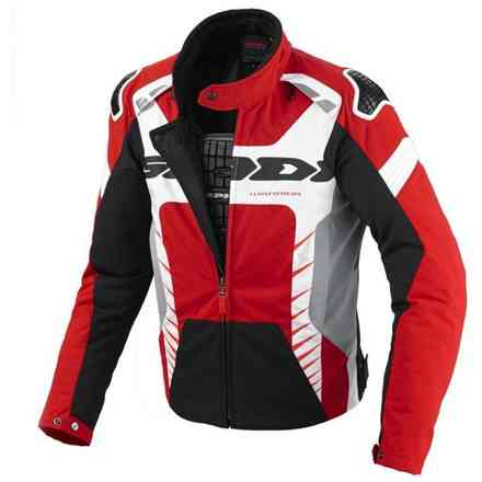 Veste Warrior Tex rouge-blanc-noir Spidi