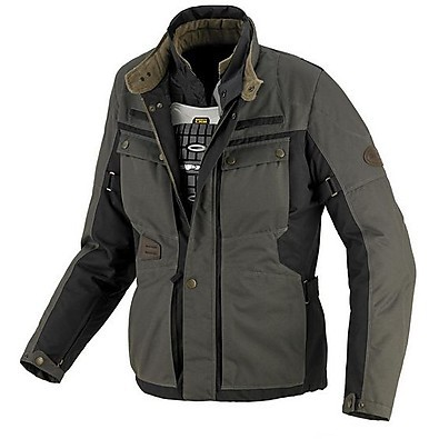 Veste Worker Tex H2Out anthracite-noir Spidi