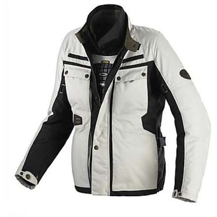 Veste Worker Tex H2Out ivoire-noir Spidi