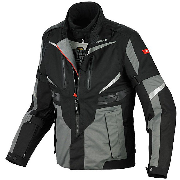 Veste X  Tour H2Out gris-noir Spidi