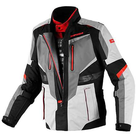 Veste X  Tour H2Out noir-rouge Spidi