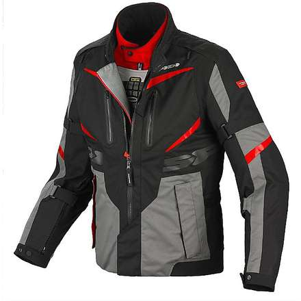 Veste X  Tour H2Out rouge-noir Spidi