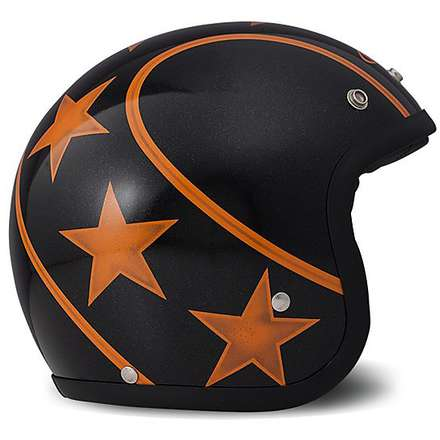 Vintage Stunt Orange Helmet DMD