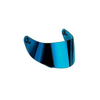 Visor for K-5 (XS-MS) iridium blue Agv