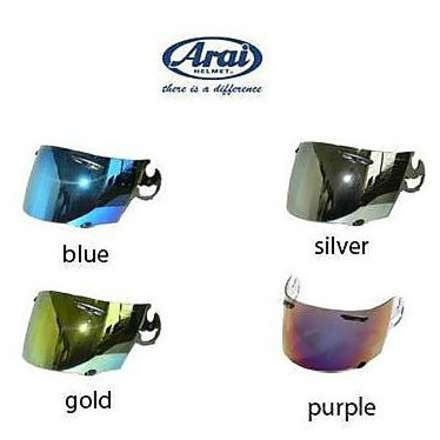 Visor for Rx-7 Gp/ Quantum-st/Chaser-V/Axces II  gold Arai