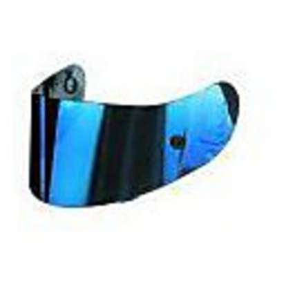 Visor fur Gp-tech E T-2  iridium Blau Agv