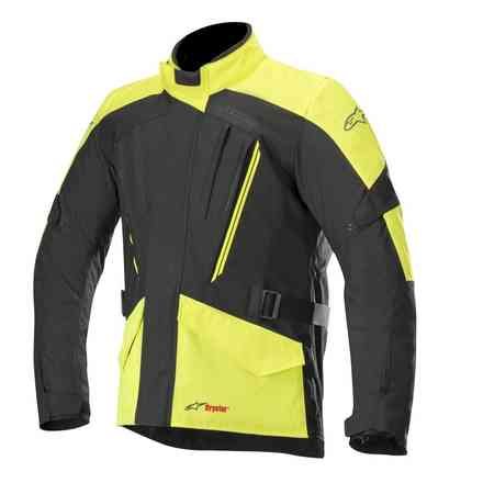 Volcano Drystar jacket black yellow fluo Alpinestars
