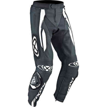 Vortex Pant leather black white Ixon
