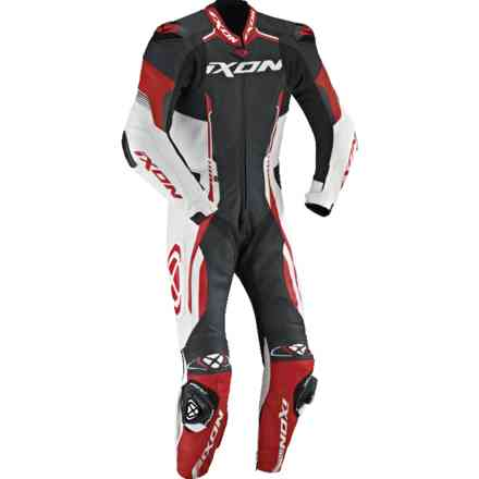 Vortex racing suit black white red Ixon