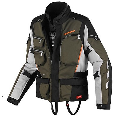 Voyager 3 H2Out Jacket green-black Spidi