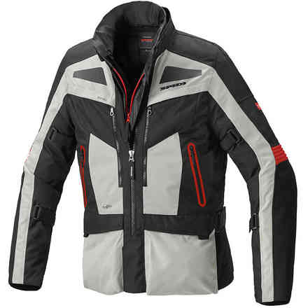 Voyager 4 Evo jacket grey red Spidi