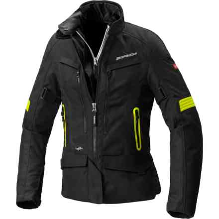 Voyager 4 Lady jacket yellow fluo Spidi