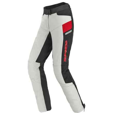 Voyager Pants Lady H2out Ice/red Spidi