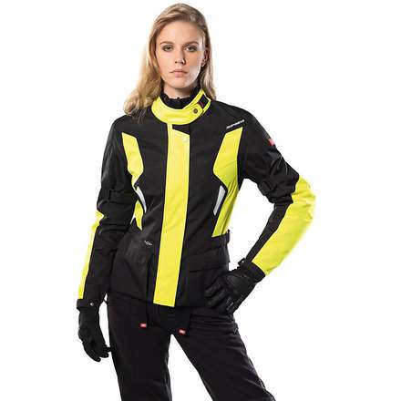 Voyager Woman Jacket yellow fluo Spidi