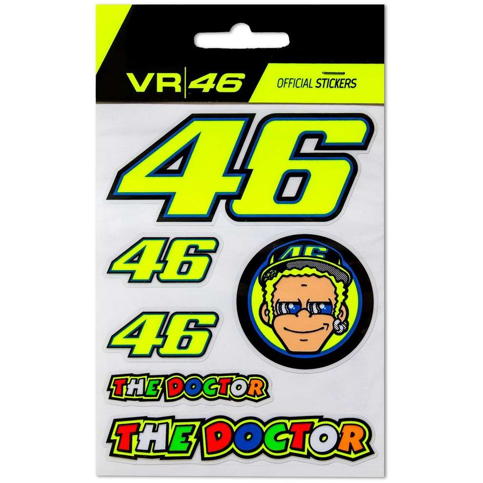 VR46 Stickers Small Set VR46