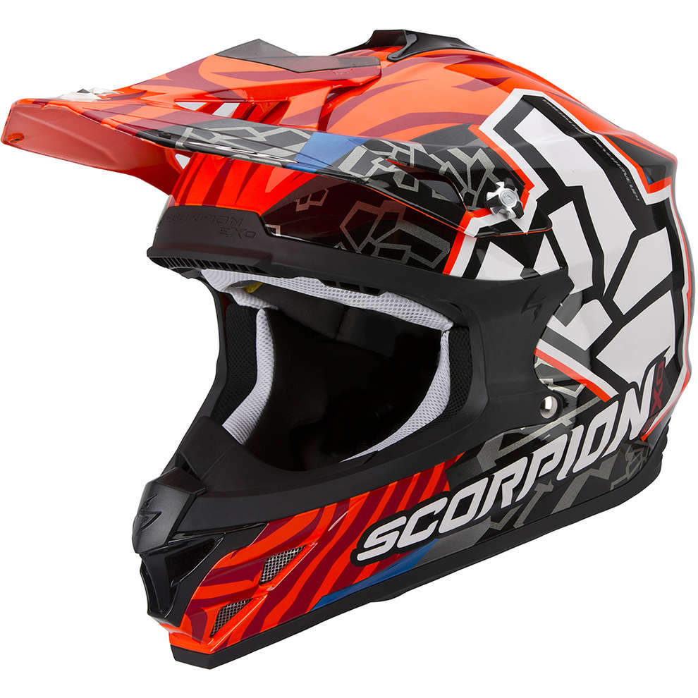 VX-15 Evo Air Rok Bagoros orange Helmet Scorpion
