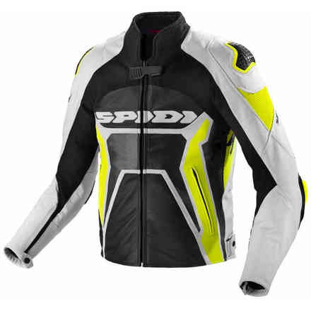 Warrior 2 Jacket black yellow fluo Spidi