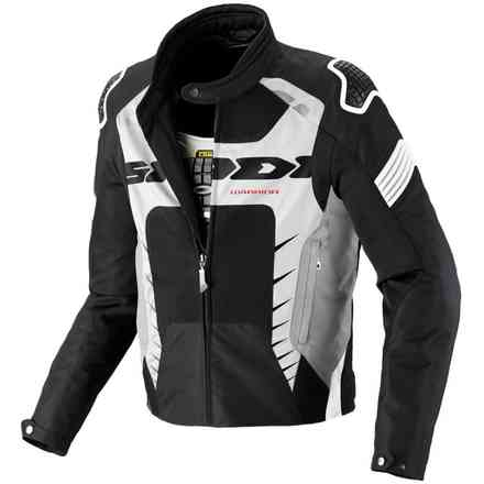 Warrior Net black-white  Jacket Spidi