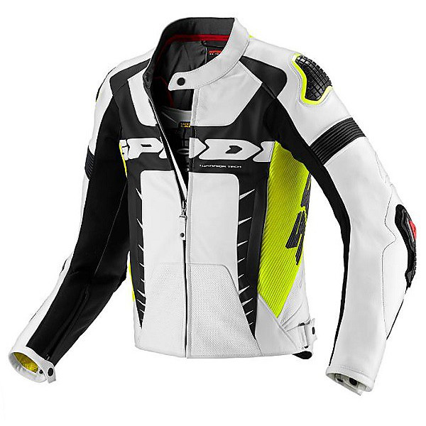 WARRIOR PRO   Jacket yellow fluo - gift back protector Spidi
