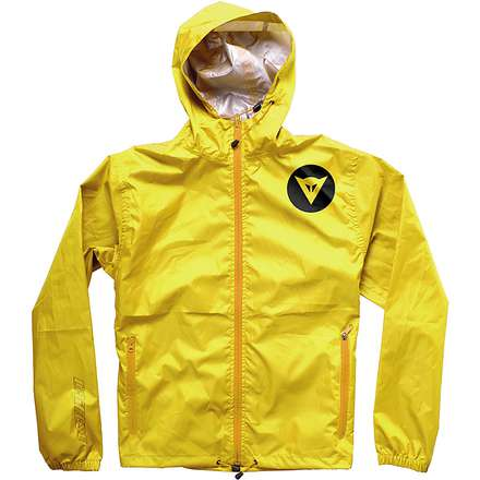 waterproof jacket D-Light Shell  yellow Dainese