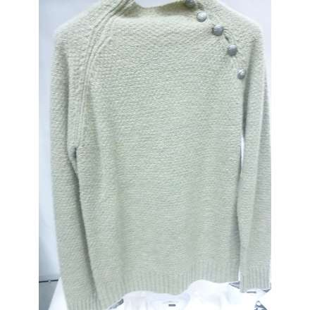 Wool sweater with buttons Gaudi