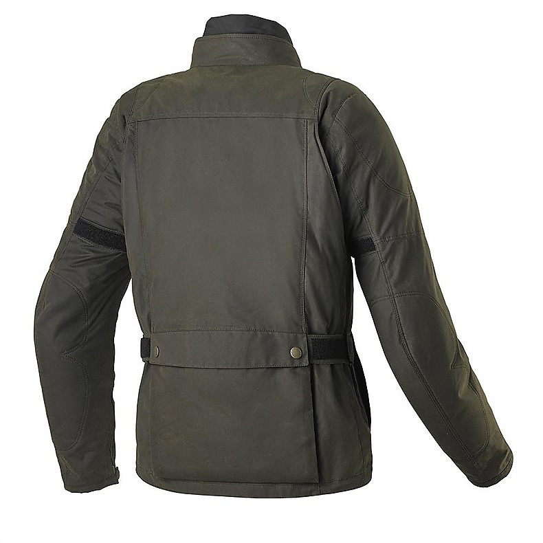 Worker Wax Jacket green Spidi