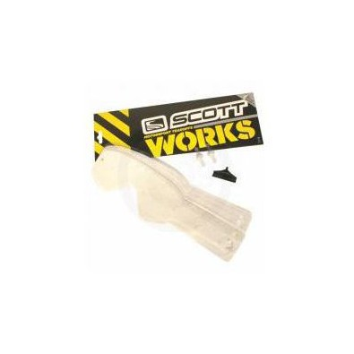 Works Tear Off System Per Occhiali Serie 80 E Recoil 10 Pezzi Scott
