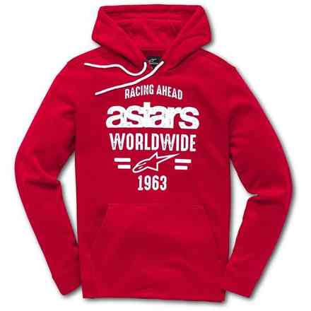 World Fleece Red Alpinestars
