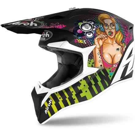 Wraap Youth Pin Up Matte Helmet Airoh
