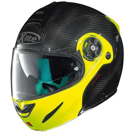X-1003 Ultra Carbon flat black-yellow Helmet X-lite