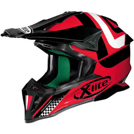 X-502 Best Trick red Helmet X-lite