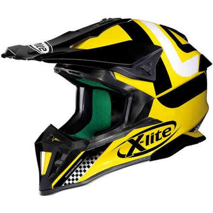X-502 Best Trick yellow Helmet X-lite