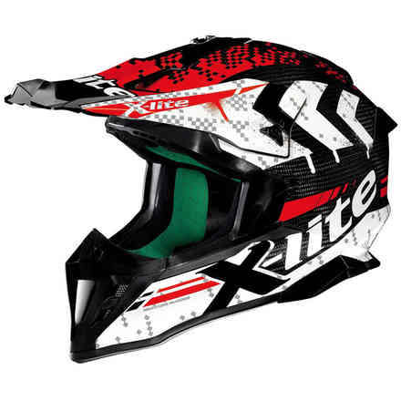 X-502 Ultra Carbon  Nac-Nac red Helmet X-lite