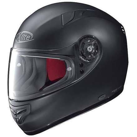 X-603 Start N-com Helmet black X-lite