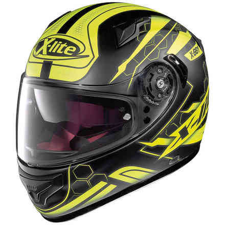 X-661 Honeycomb yellow Helmet X-lite