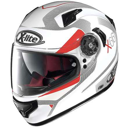 X-661 N-Com Point Croix metal white Helmet X-lite