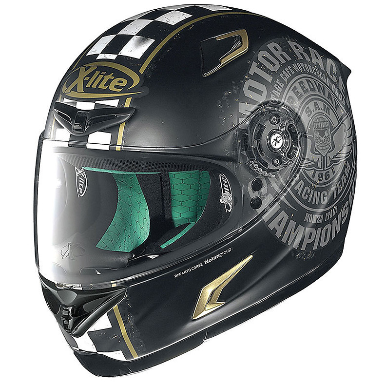 X-802RR Cafe Club flat black Helmet X-lite