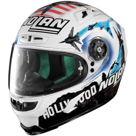 X-803 Melandri Usa Metal white X-lite