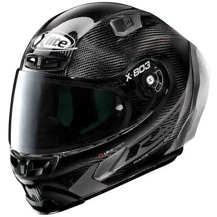 X-803 Rs Hot Lap Carbon helmet black X-lite