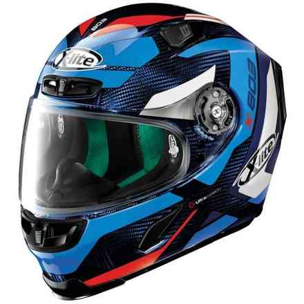 X-803 ultra Carbon Mastery Carbon Tinto Blue helmet X-lite