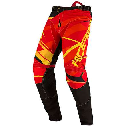 X-Gear pants red-yellow Acerbis