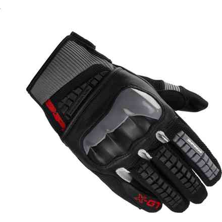 X-Gt black grey Gloves Spidi