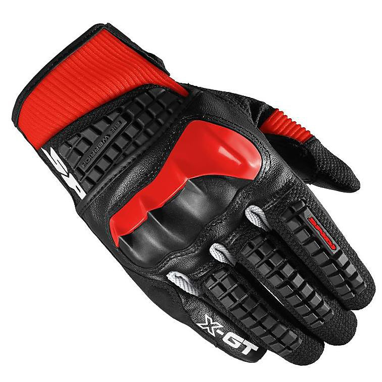X-GT red Gloves Spidi