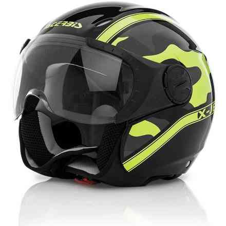 X-Jet On Bike Helmet Acerbis