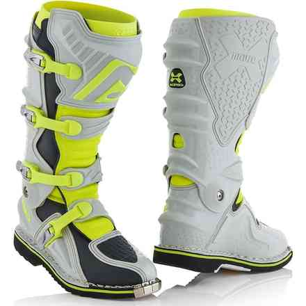 X-Move 2.0 Boots Gray / Yellow Acerbis
