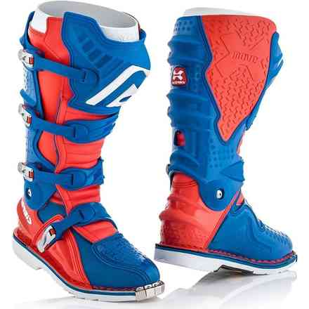 X-Move 2.0 Boots Red / Blue Acerbis