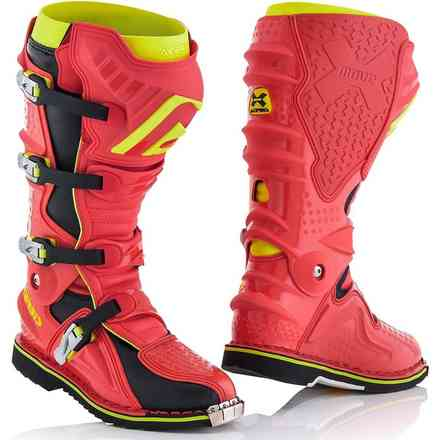 X-Move 2.0 Boots Red / Yellow Acerbis